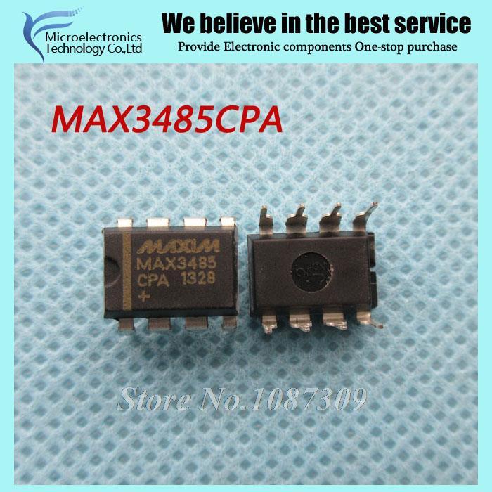 50pcs free shipping MAX3485CPA MAX3485 MAX3485EPA DIP-8 RS-422/RS-485 Interface IC 3.3V 10Mbps Transceiver new original(China (Mainland))