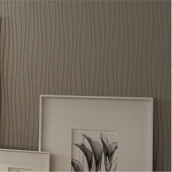 Buy design shimmer wave lines stripe pvc for Wallpaper home line