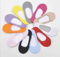 3 pair Summer Candy Color Woman Cotton Pure Color Boat Socks 1006 Free Shipping Wholesale