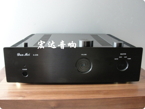 A238 transistor amplifier chassis Full aluminum Power amplifier chassis / AMP case Enclosure / DIY chassis (435*380 *115mm)