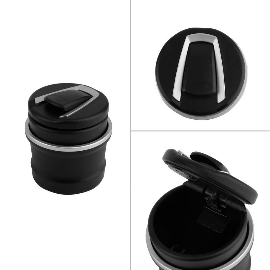 1pcs car Ash Tray Ashtray Storage Cup With LED for BMW 1 3 4 5 7 Series X1 X3 X5 X6 Wholesale(China (Mainland))
