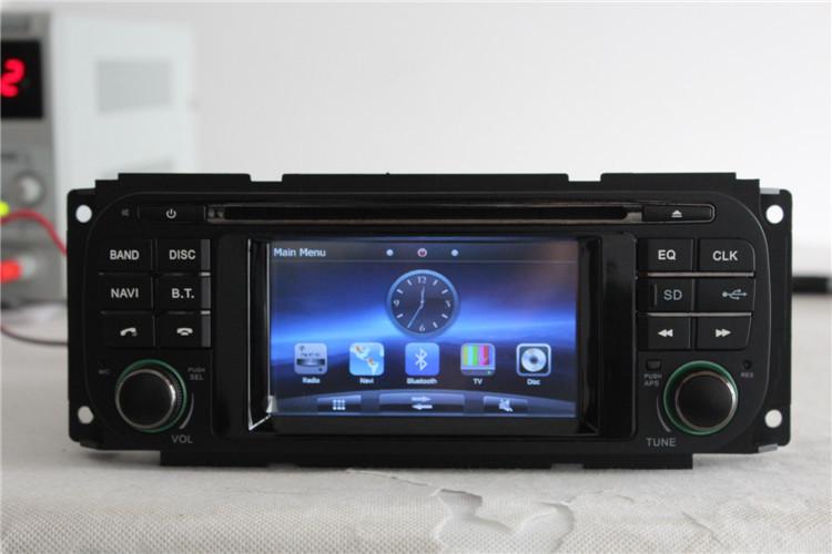 Car DVD Player GPS Navi For Jeep Grand Cherokee Dodge Chrysler Sebring Wrangler/Free shipping/map card