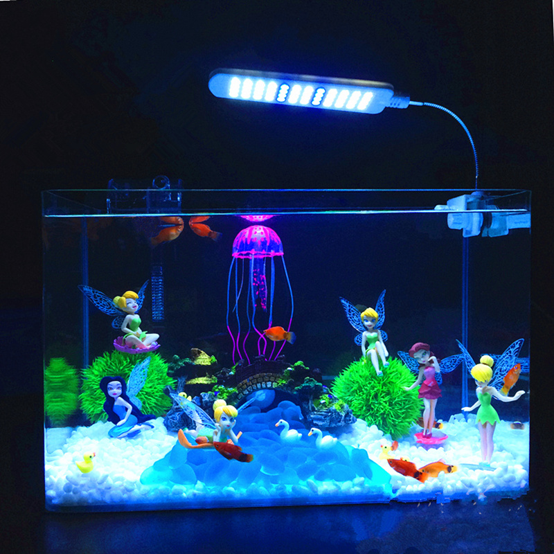 New hot fish tank aquarium decoration flower fairy dolls for Fish tank decorations cheap