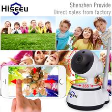 Hiseeu IP Camera WiFi Wireless Home Security Camera 433MHz Surveillance Camera Baby Monitor Night Vision CCTV Camera FH2(China (Mainland))