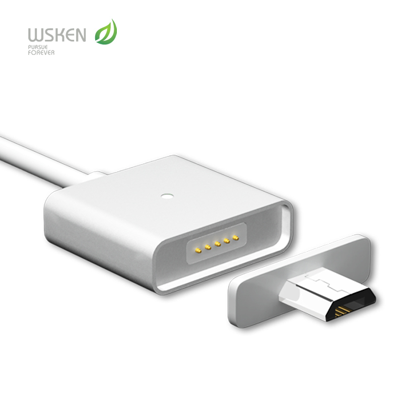 Гаджет  Original Wsken Micro USB charger cable For Android Universal Magnetic cable For SAMSUNG HUAWEI HTC ZTE XiaoMi high speed None Телефоны и Телекоммуникации