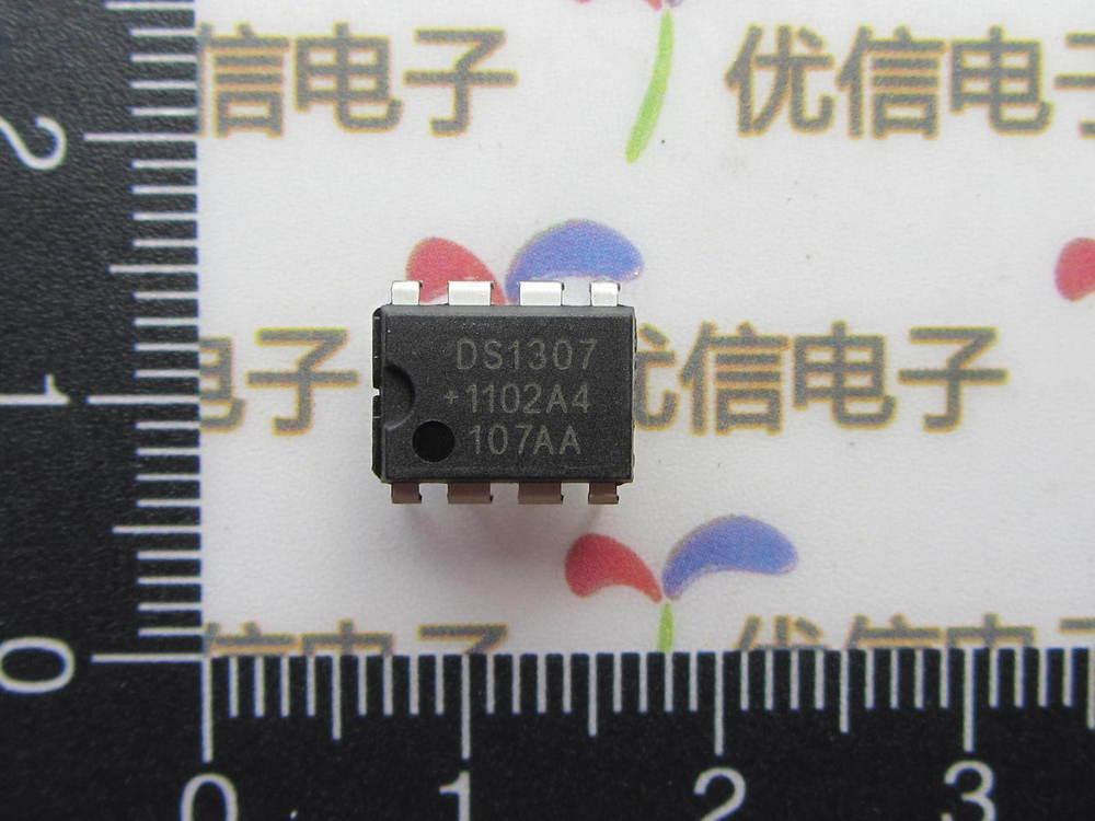 Схема часы линия DS1307