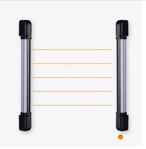 Alarm intrusion protection Outdoor 4 beams 20m Infrared barrier detector for vailla home garden yard factory window, door, gate(China (Mainland))