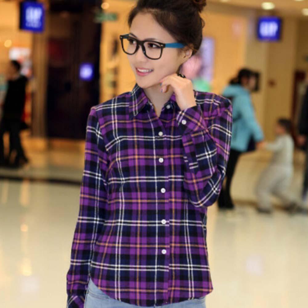 Popular Check Button Down Shirt-Buy Cheap Check Button Down Shirt ...