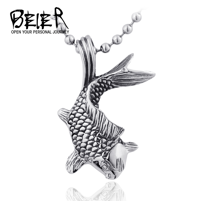 2015 Cute Fish Long Sweater Pendants Necklaces Gift Fashion Jewelry Unisex one piece Cheap BP1215(China (Mainland))