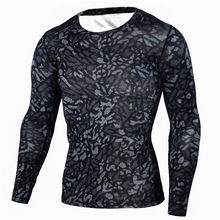 Buy 2017 Brand Clothing Compression Shirt Camouflage Crossfit Fitness T Shirt Men Plaid Tights Workout Tops Slim Fit Base Layer MMA for $8.49 in AliExpress store
