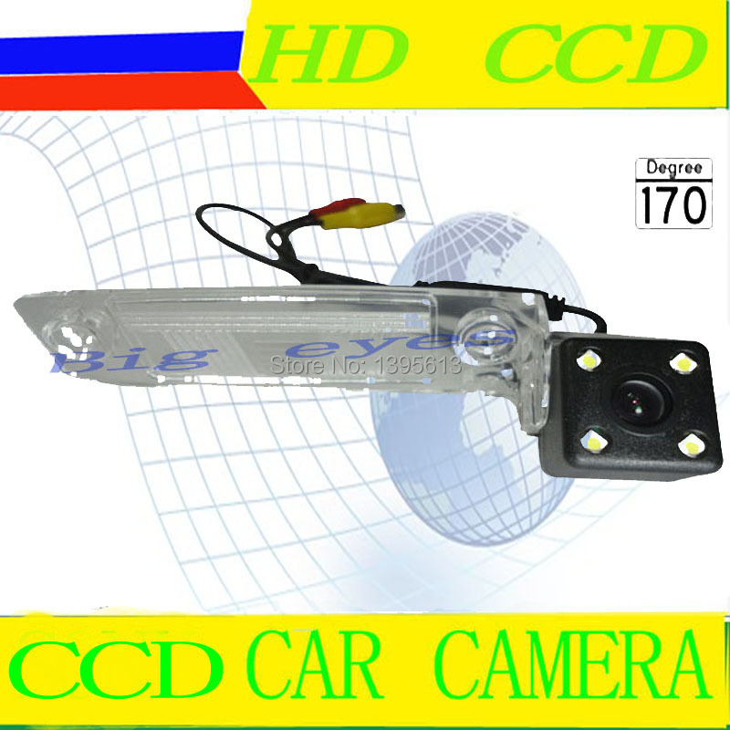 night vision Car rear view camera car parking camera For KIA Sportage R K3 HD CCD color car reverse camera(China (Mainland))