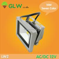 GLW 12V AC/DC 10W  Seven LED Flood Light High Power Waterproof flood light Outdoor  Lights IP65 LW2