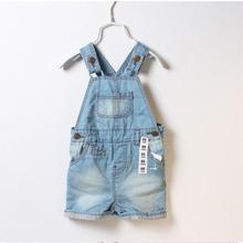 2016 summer fashion unisex casual toddler baby boys girls shorts children jumpsuit kids overalls shorts retail(China (Mainland))
