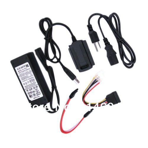 USB 2.0 to IDE SATA 2.5 3.5 Hard Drive Converter Adapter Cable(China (Mainland))