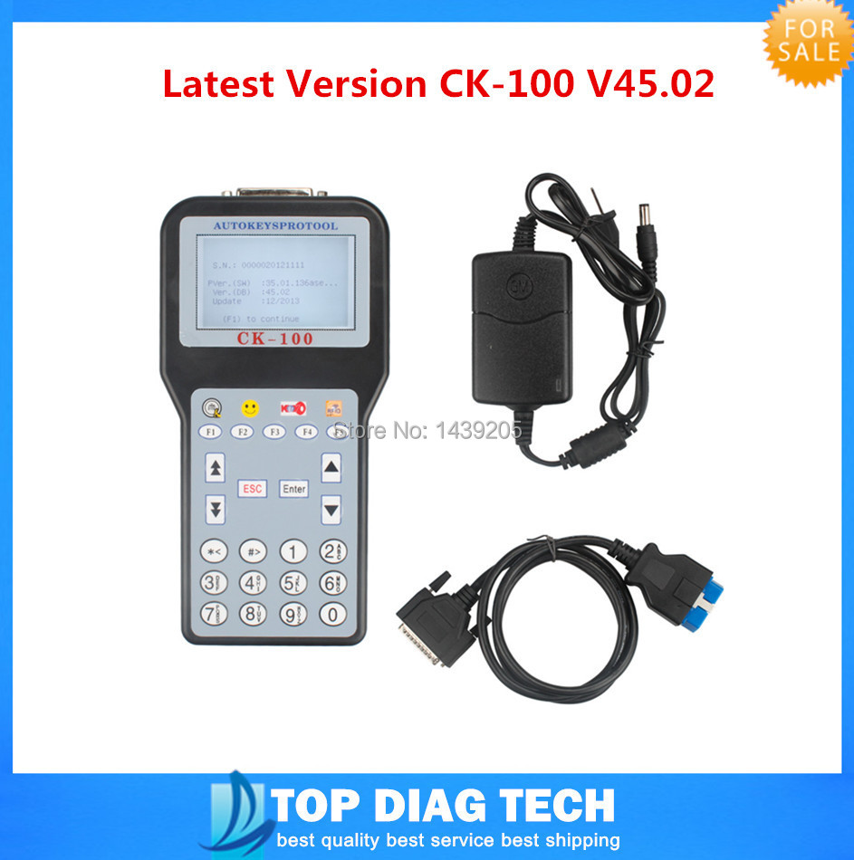 2015 DHL Free shipping High Quality Professional SBB The Latest Version CK-100 V45.02 Immobilizer Auto Key Programmer(China (Mainland))