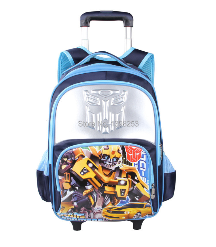 2015 Primary School Trolley Bags Fashion Case Unisex Polyester Backpack Quality Good Luggage 5A - Small Cannon Playground store