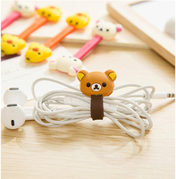Give Free Gift Button Mobile Earphone Holder Cute Cable Winder Phone Charm For Iphone6/5 Wire Organizer Lowest Price 24pcs QQ19