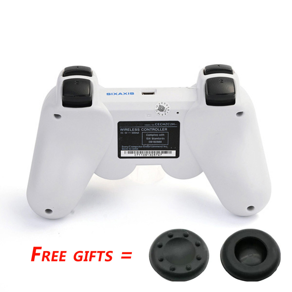 Original White PS3 Controller SIXAXIS Bluetooth Wireless Controller Gamepad for Sony Playstation 3 Dualshock 3 Joystick Console(China (Mainland))
