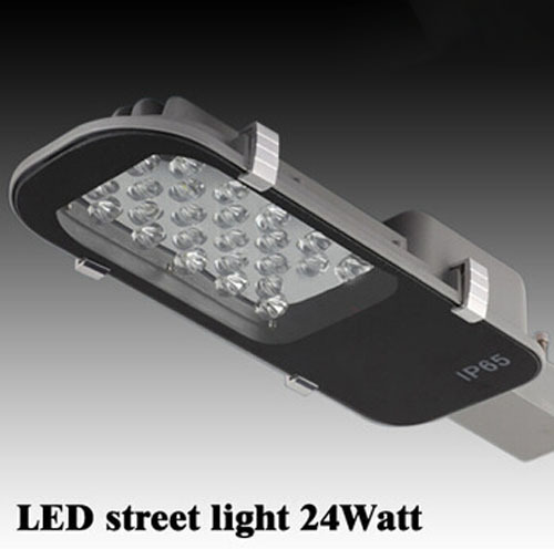 24W LED Street Lights E40 Road Lamp waterproof IP65 AC85-265V led street light Industrial light outdoor lighting lamps(China (Mainland))