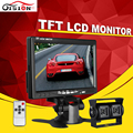 420TVL 3 6mm CCD Car Rearview Parking Camera With 7Inch TFT LCD Monitor For Reversing Backup