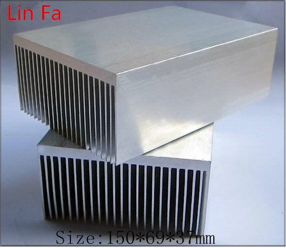 (6pieces) extruded aluminum heatsink/150*69*37mm Designed heat sink fan/Computer dedicated - YONGLINLVDIANKEJI Aluminum ET Store store