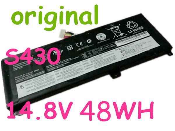 original battery 14.4v 48WH FOR Lenovo ThinkPad Edge S430 45N1085 45N1086 LAPTOP BATTERY<br><br>Aliexpress