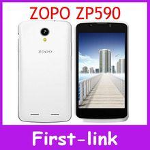 Original ZOPO ZP590 SmartPhone 4.5 inch MTK6582M Qual Core 4GB ROM 2MP+5MP Camera Android 4.4 multi language free shipping