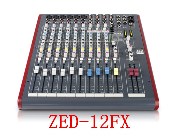 ZED-12FX 12 channel Stereo USB mixer professional stage performances Mixer with Effects Recording audio mixer karaoke mixer<br><br>Aliexpress