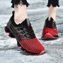 Plus Size Outdoor Sneakers voor Loopschoenen vrouwen Sportschoenen Sport Mannen Groene Schoenen Vrouw Lopen Krasovki Fitness B-244(China)