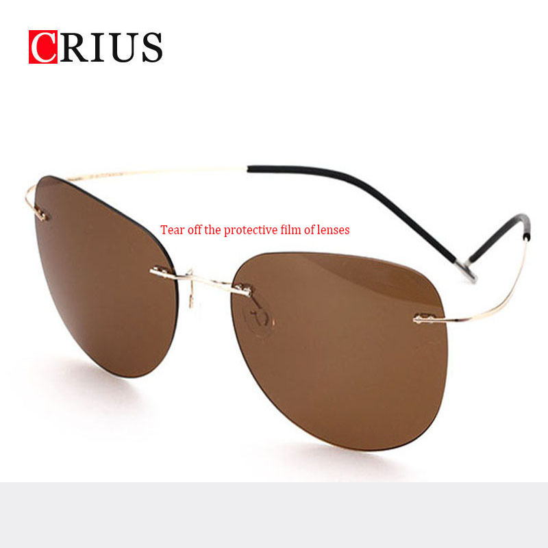 Brand CRIUS 2016 new Polarized lenses Mens sunglasses men ...