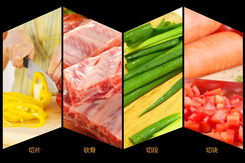 Buy Free Shipping ZGX Handmade Kitchen Professional Chef Chop Bone Slice Meat Dual-purpose Forged Cutting Bone Fish Meat Knives cheap