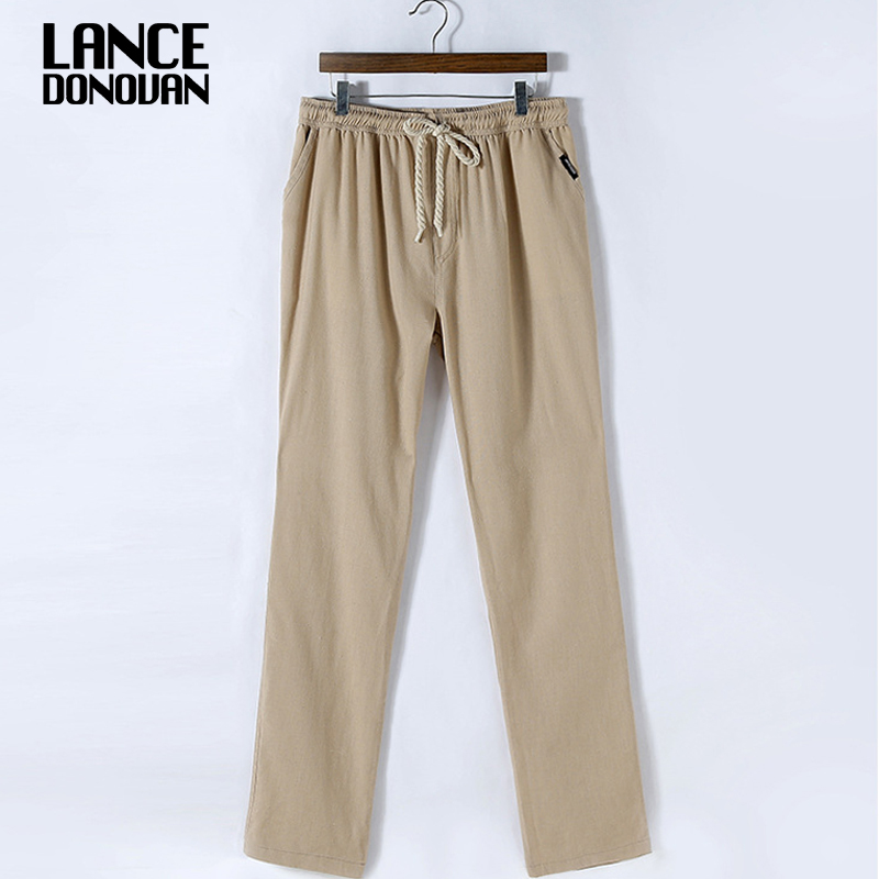 Fitted Linen Pants Promotion-Shop for Promotional Fitted Linen ...