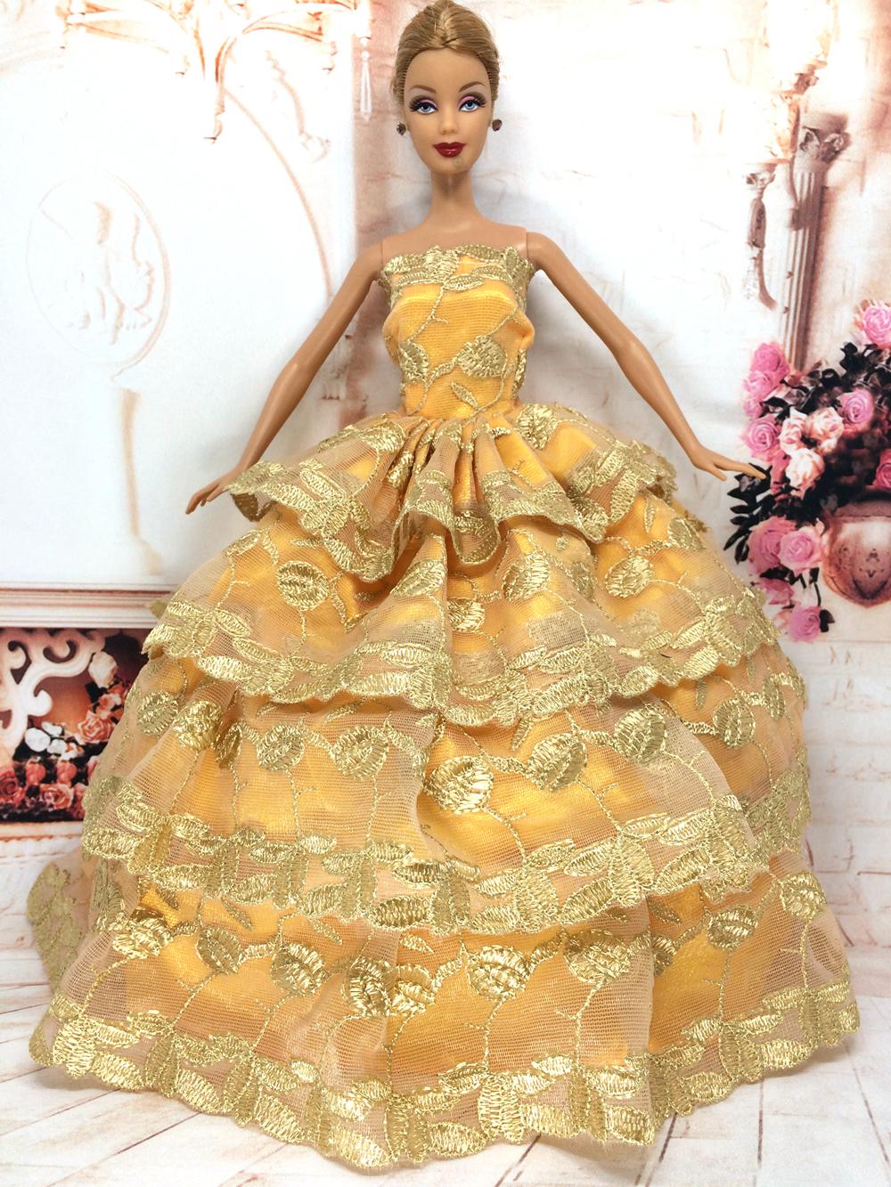 Платья для куклы барби 189