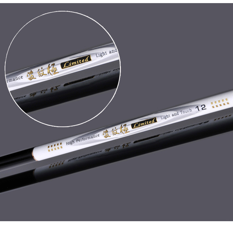 3.6m 4.5 5.4 carbon fiber fishing rod tack levara de pesca de carbono Fish Spinning Rod Stream Hand Fishing Rod Carp Fishing(China (Mainland))