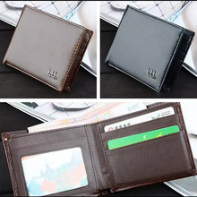 Men Business Leather Wallet Pocket Card Clutch Bifold Slim Purse Vogue