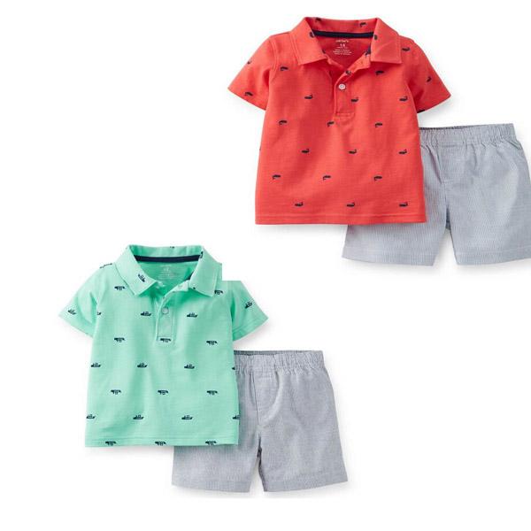 Комплект одежды для девочек Carters 2015 ,   baby F 3 piece of 1set