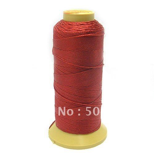 Wholesale 1000meter/lot Salable Jewelry Accessories Wire,Fabric Line(12 Shares),Dark Red Cotton Cord Free Shipping 335<br><br>Aliexpress