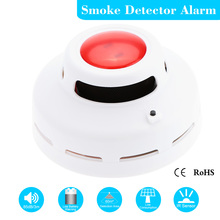 High Sensitive Wireless Smoke Detector Alarm Sensor Monitor for Home Security Stable Standalone Photoelectric Fire Alarm(China (Mainland))