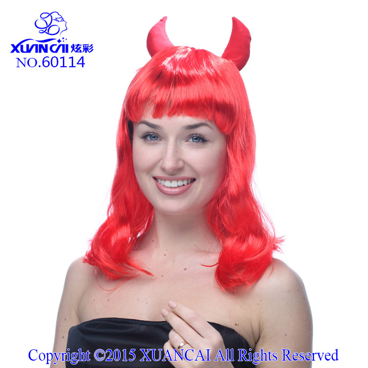 Cheap Red Costume Wigs 112