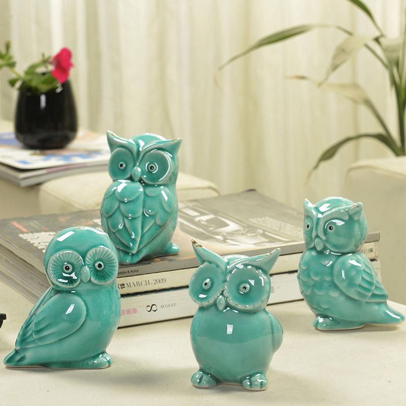 Ceramic handicrafts modern home furnishing living room for Home decor ornaments