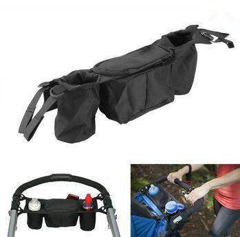 Высокое качество новый кубок сумка коляски организатор детская коляска гольф-кары ...
