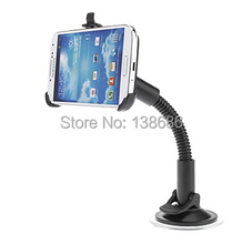 Adjustable Design Cell Phone Car Sucker Stand Holder for Samsung Galaxy S4 SIV I9500