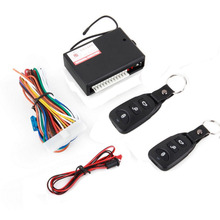 Universal Car Remote Central Kit Door Lock Locking Vehicle Keyless Entry System New