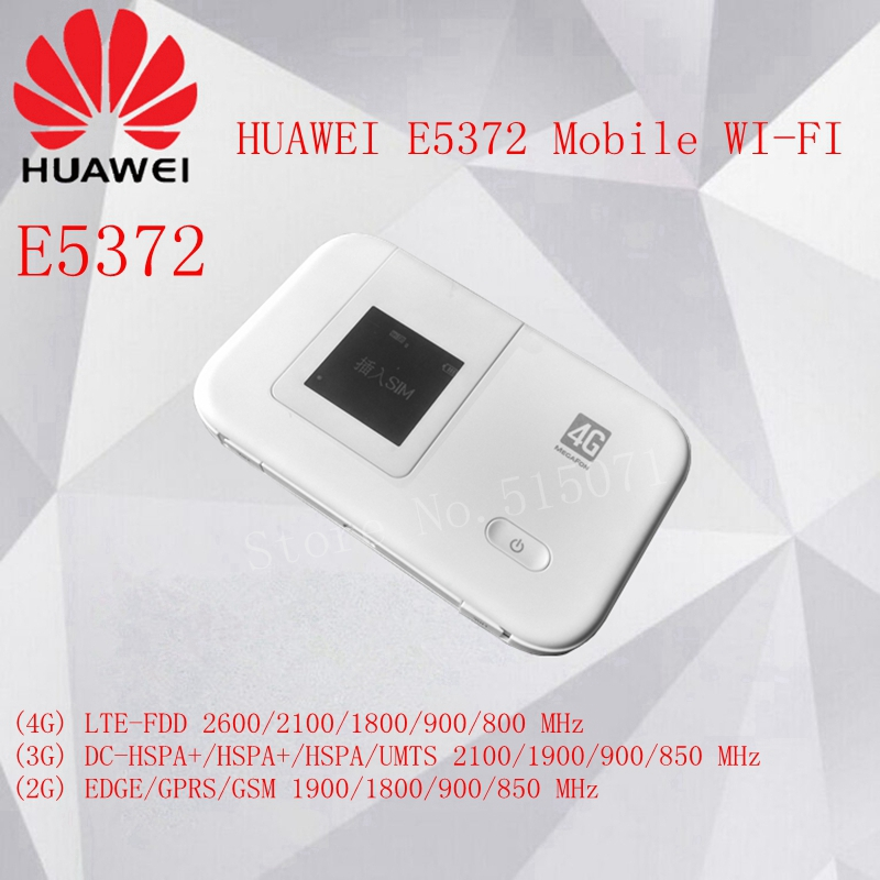 Unlocked Huawei E5372 fast 150Mbps 4g Portable Wifi Router Mobile wireless Hotspot(China (Mainland))