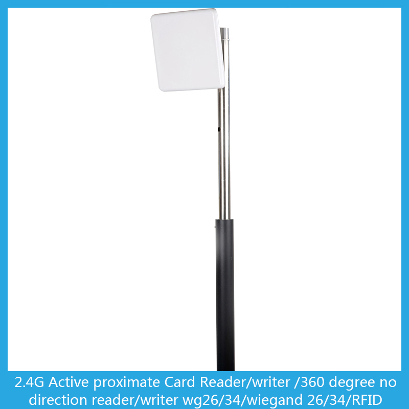 Long range 2.4G active RFID Readers for Vehicle non-stop charging system(China (Mainland))