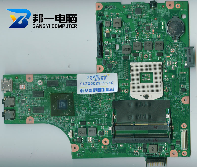 Brand new 052F31 For Dell Inspiron N5010 DG15 48.4HH01.011 Free Shipping Laptop Motherboard computer Tested 100% Good(China (Mainland))