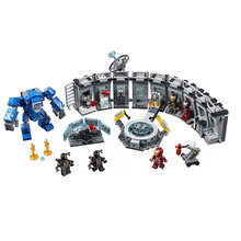 Novos Super-heróis vingadores marvel Avengers 4 caber 76124 76125 76126 76131 Fim Do Jogo Figuras Blocos de Construção Tijolos Do Brinquedo de Presente de Natal(China)