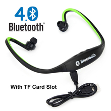 2016 New Original Sport S9 Bluetooth 4.0 With TF Card Slot Headset Wireless Earphone Headphone for Smartphone fone de ouvido