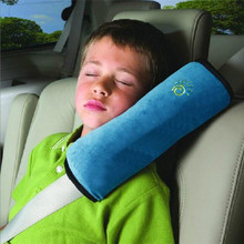 New Baby Car Auto Safety Seat Belt Harness Shoulder Pad Cover Children Protection Car Covers Cushion Support Pillow(China (Mainland))