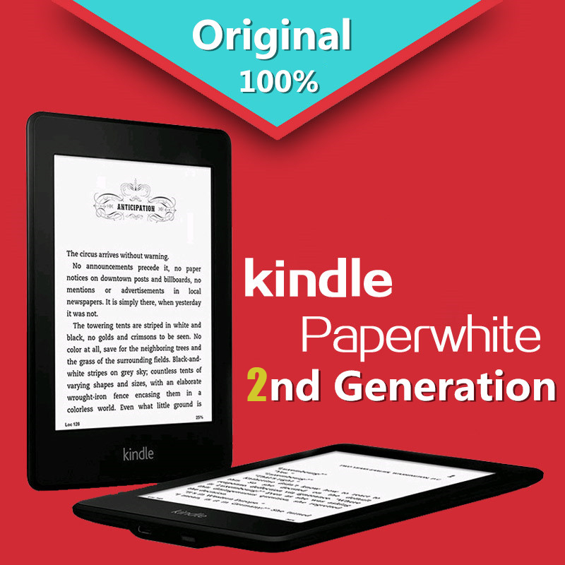 Original Kindle paperwhite 2nd Generation 2GB eBook e-ink Screen With built-in backlight (please read the description carefully(China (Mainland))